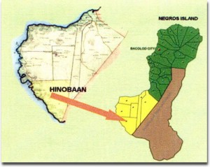 map of Hinoba-an