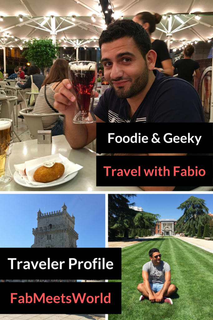 Traveler Profile - Foodie and Geeky Travel with Fabio Virgi from FabMeetsWorld.com