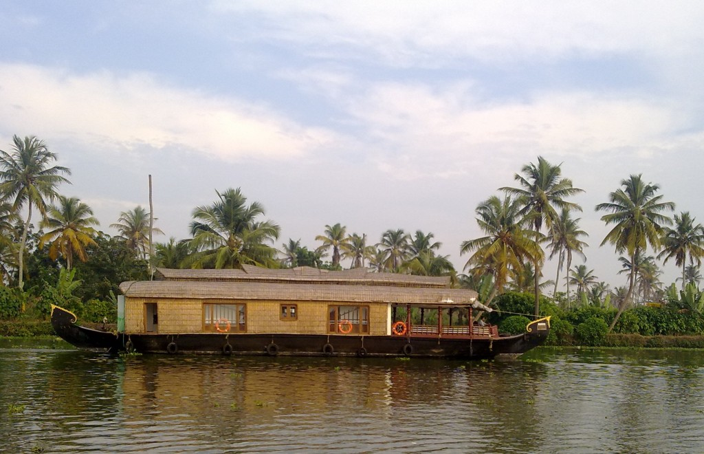 Our Houseboat in Alleppey
