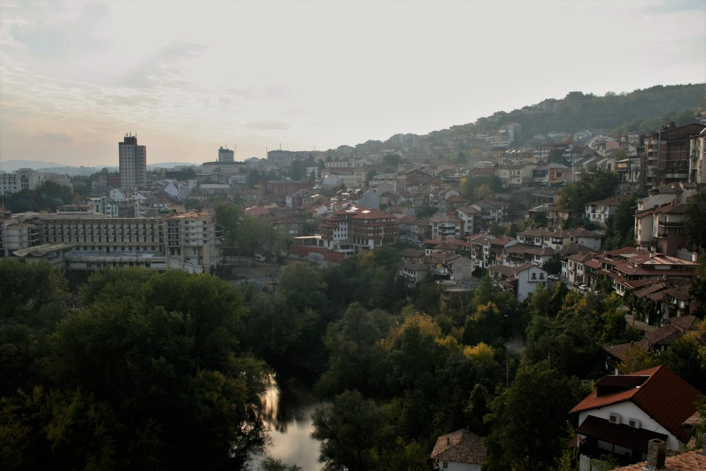 View of Veliko Tarnovo Bulgaria