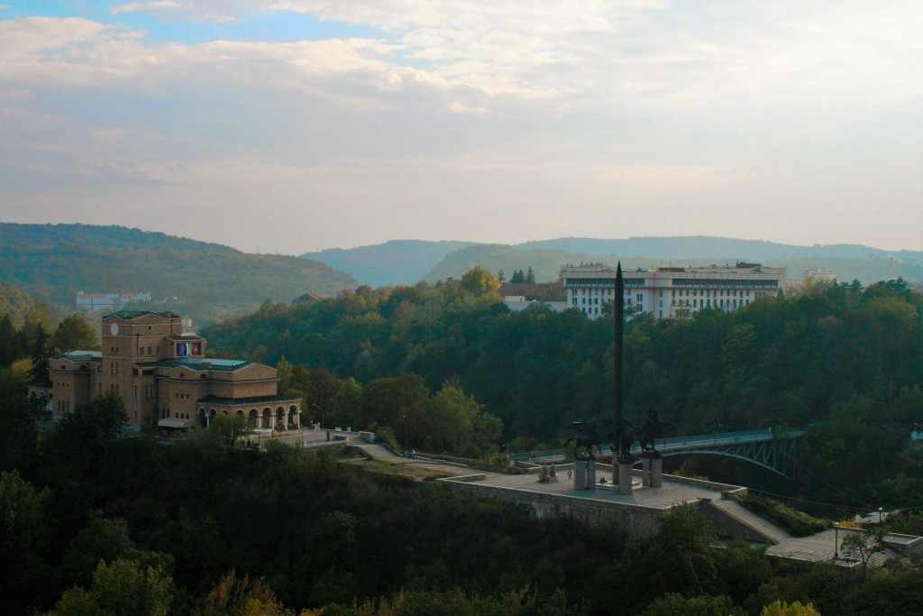The Monument of the Asens, Veliko Tarnovo, Bulgaria