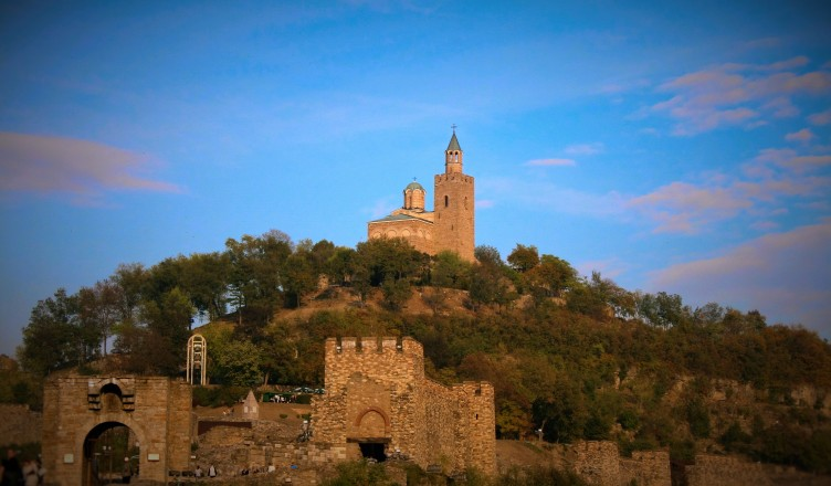 Closeup of the Fortress, Veliko Tarnovo, Bulgaria