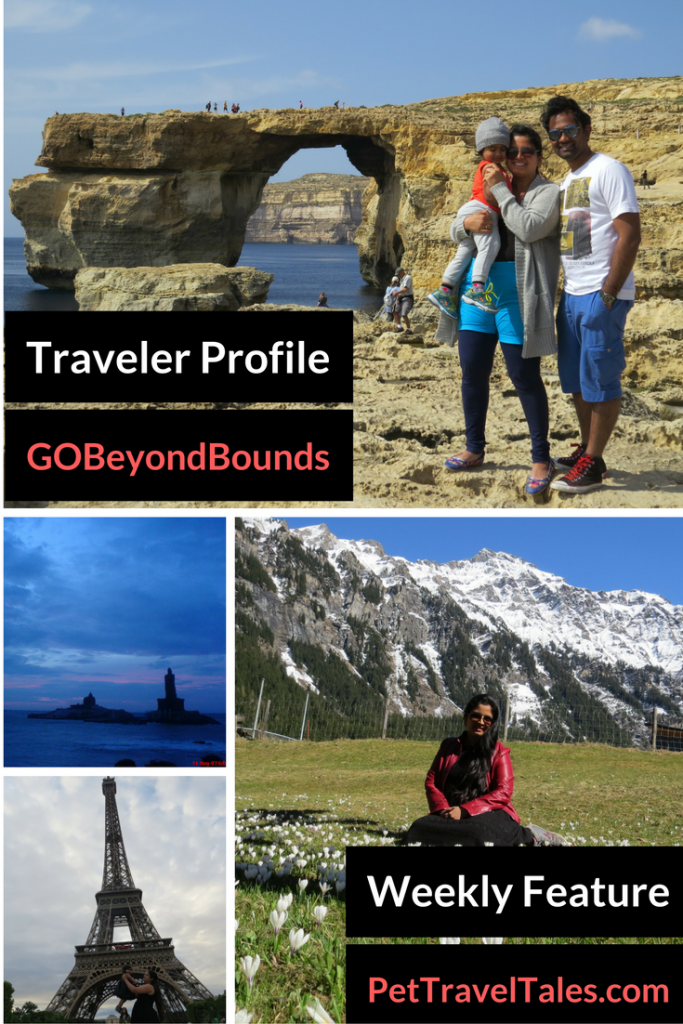 Traveler Spotlight: Chalukya and Rashmi from GOBeyondBounds
